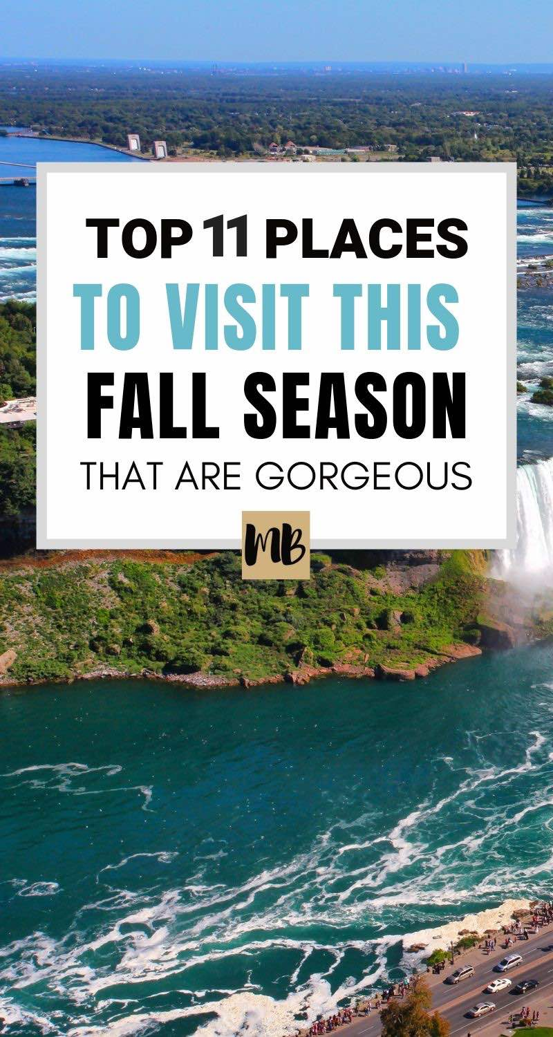 11 Places to Visit this Fall you wouldn't think of that are absolutely gorgeous