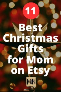 11 Best Christmas Gifts for Mom on Etsy | Delight your mom this Christmas with these incredible gifts from Etsy!