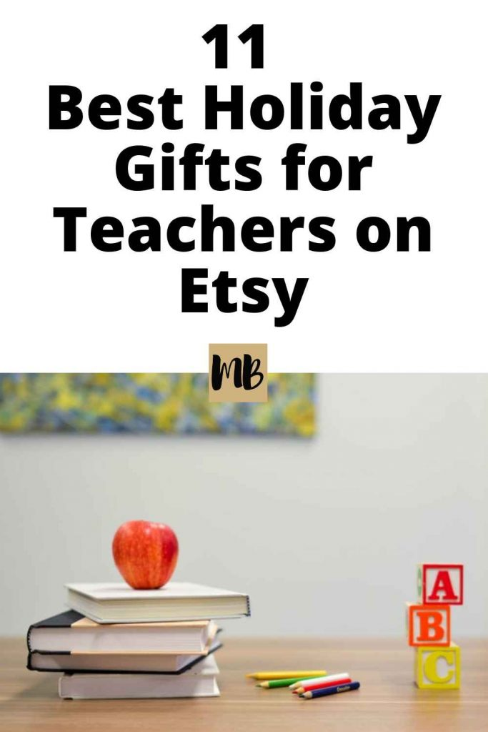 11 Best Holiday Gifts for Teachers on Etsy | These gifts are perfect for the special teachers in your life!