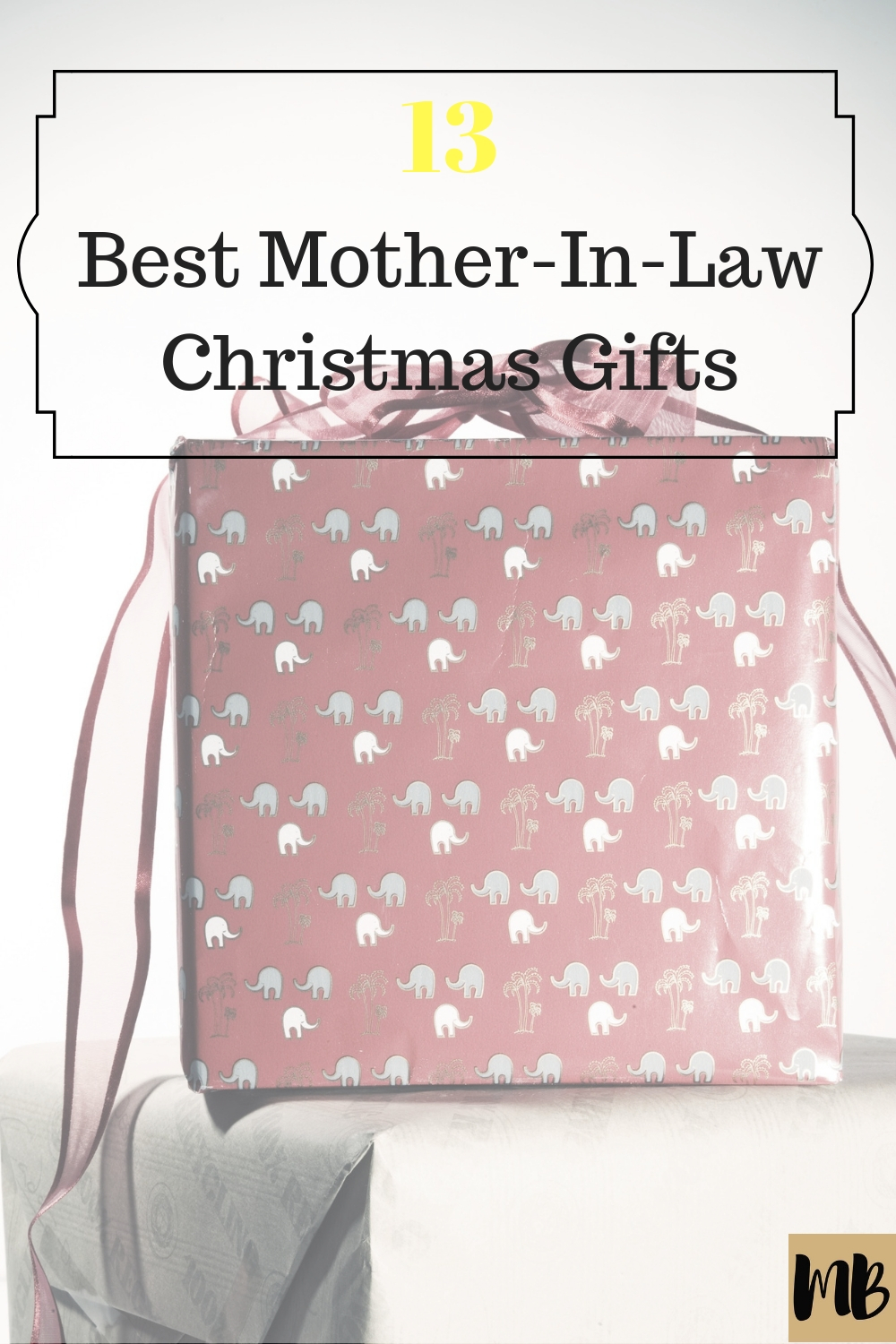 Best Mother In Law Christmas Gifts Title - Millennial Boss