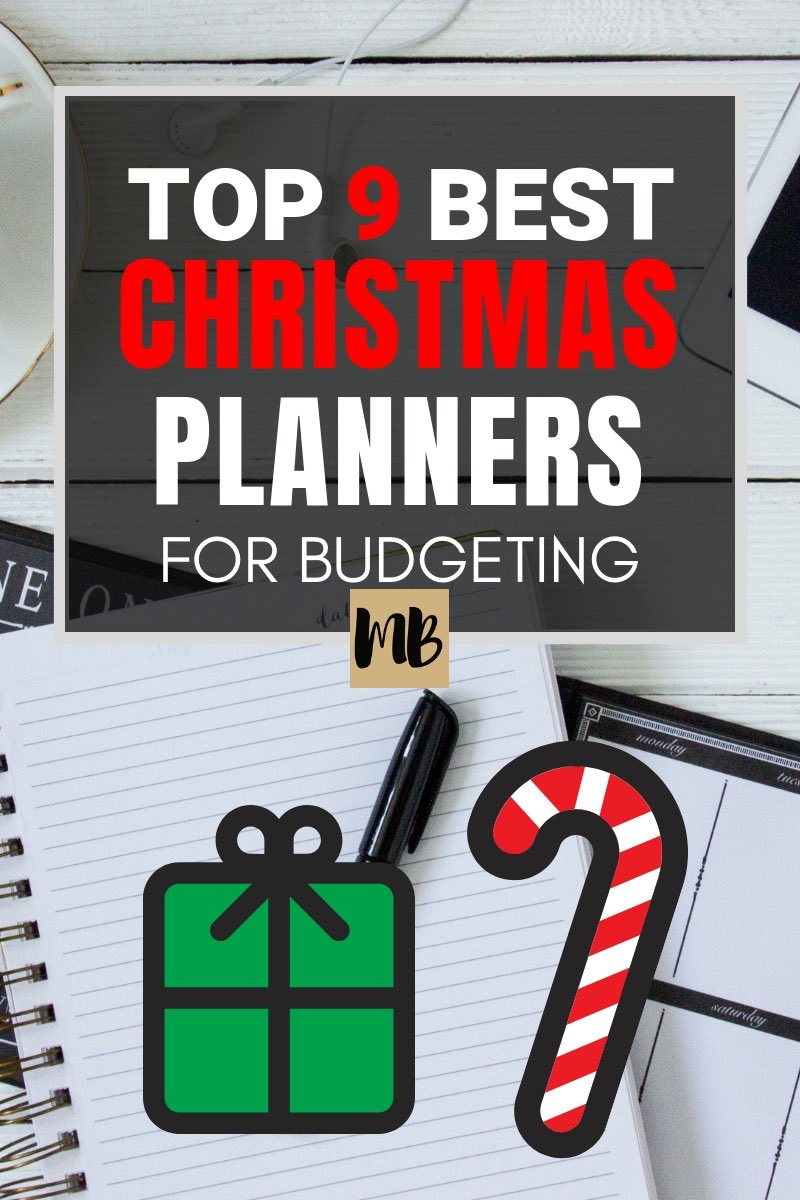 I found the 9 Best Christmas Planners on Etsy for Budgeting and Staying in budget this Christmas season #christmasbudget
