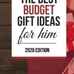 Christmas gift ideas for your husband when you're on a budget