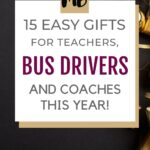 BUS DRIVER GIFTS PIN