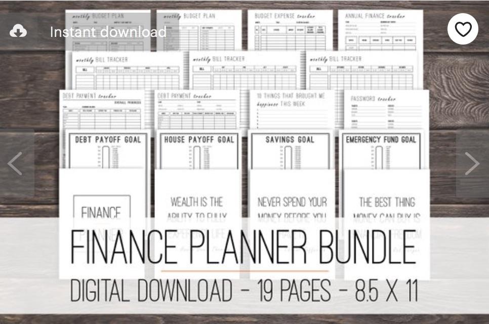 finance-printable