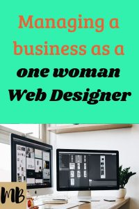 Managing a Business as a One Woman Web Designer