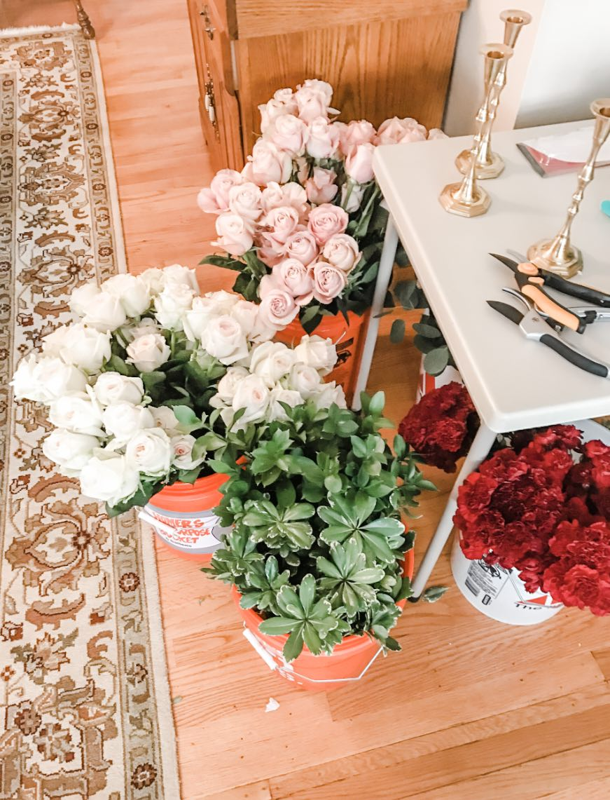 Fifty Flowers Review How I Did My Own Wedding Flowers With