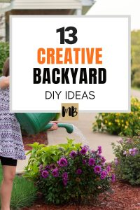 Backyard DIY Ideas for this Summer
