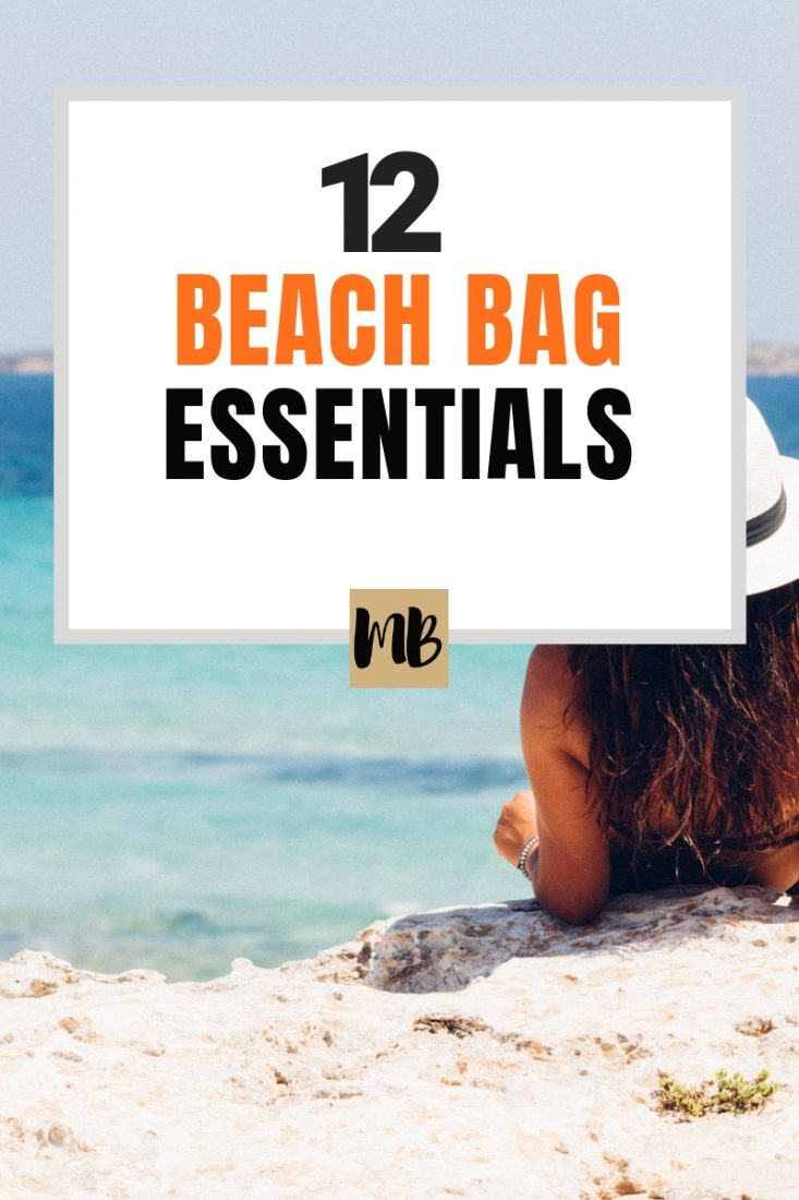 12 Beach Bag Essentials For Summer Beach Trips