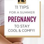 SUMMER PREGNANCY TIPS PIN