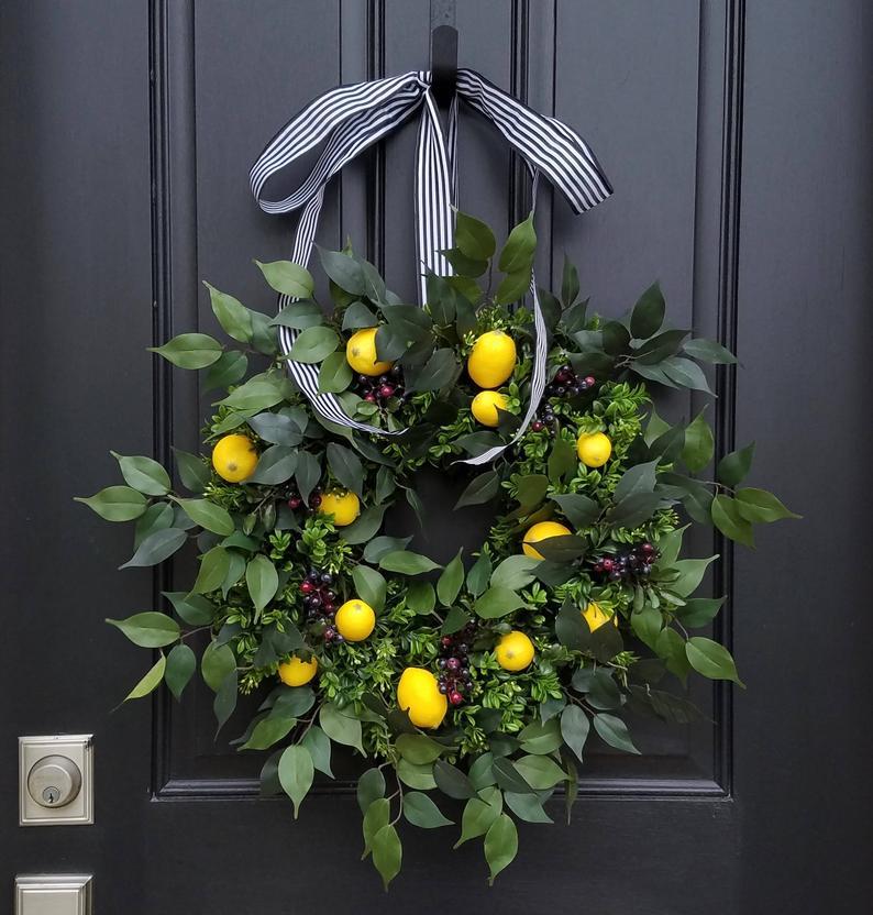 summer wreaths for your front door