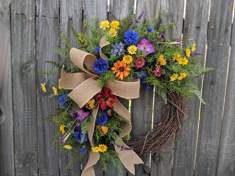 summer wreaths for your door
