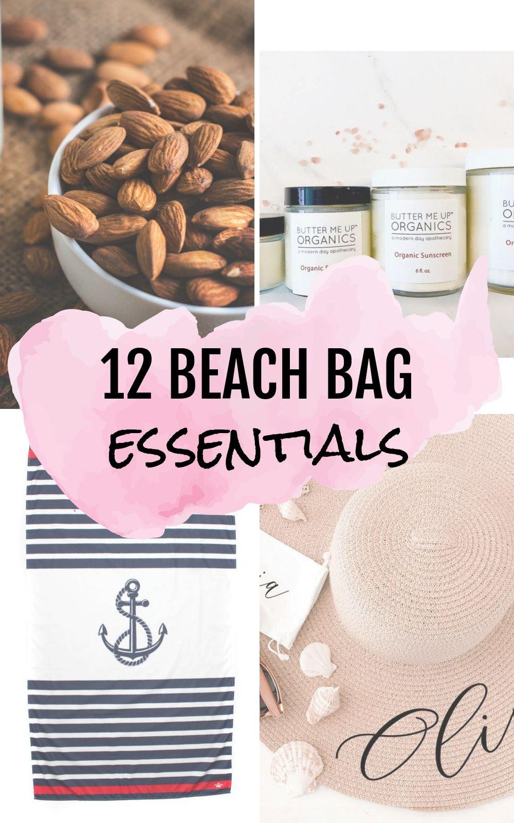 12 Beach Bag Essentials to pack this summer