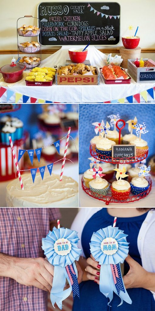 summer baby shower coed ideas
