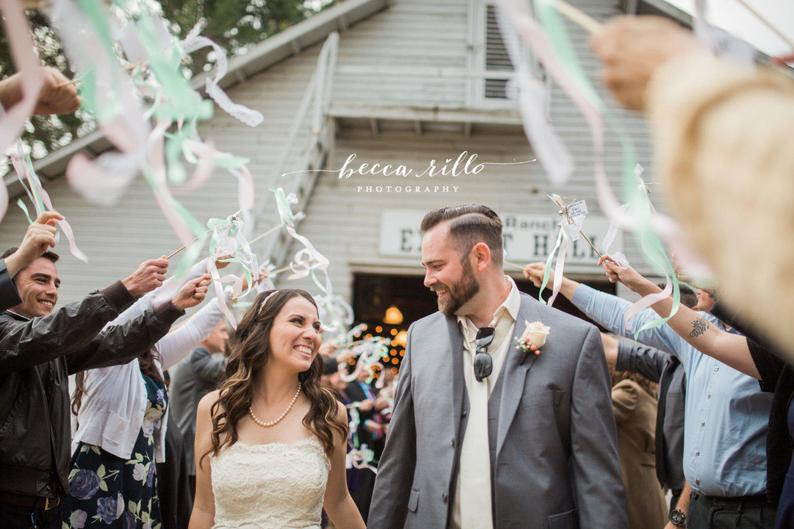 brides who chose non tradition wedding ideas