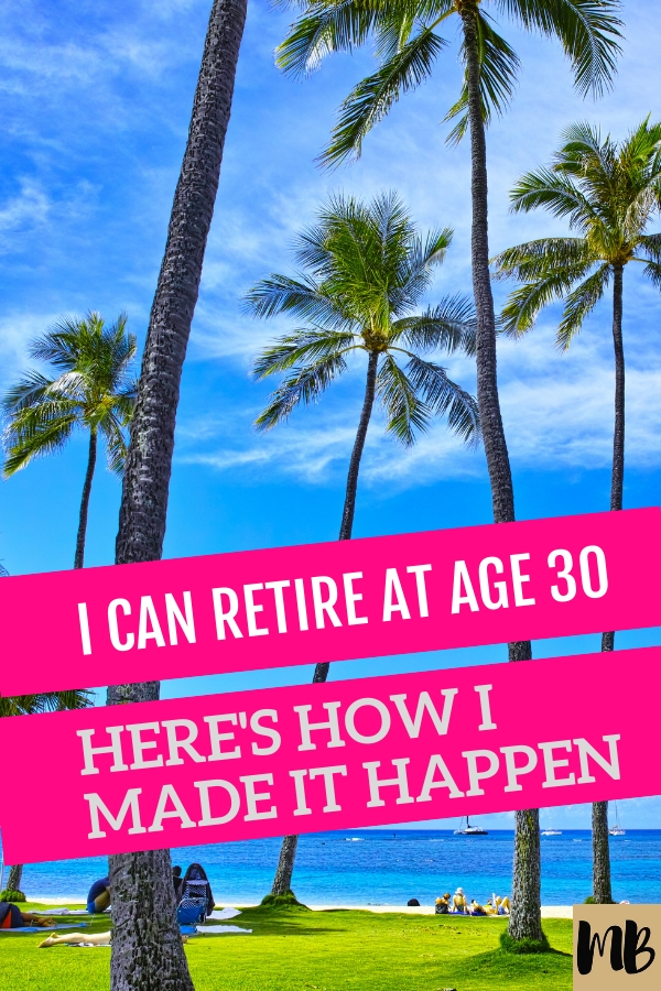 I'll be 30 in less than a year and I plan on retiring early from my job. Here's is how I planned my path to financial independence.