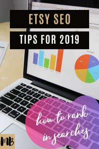 Etsy SEO tips for 2019 so you can rank on the front page of Etsy searches