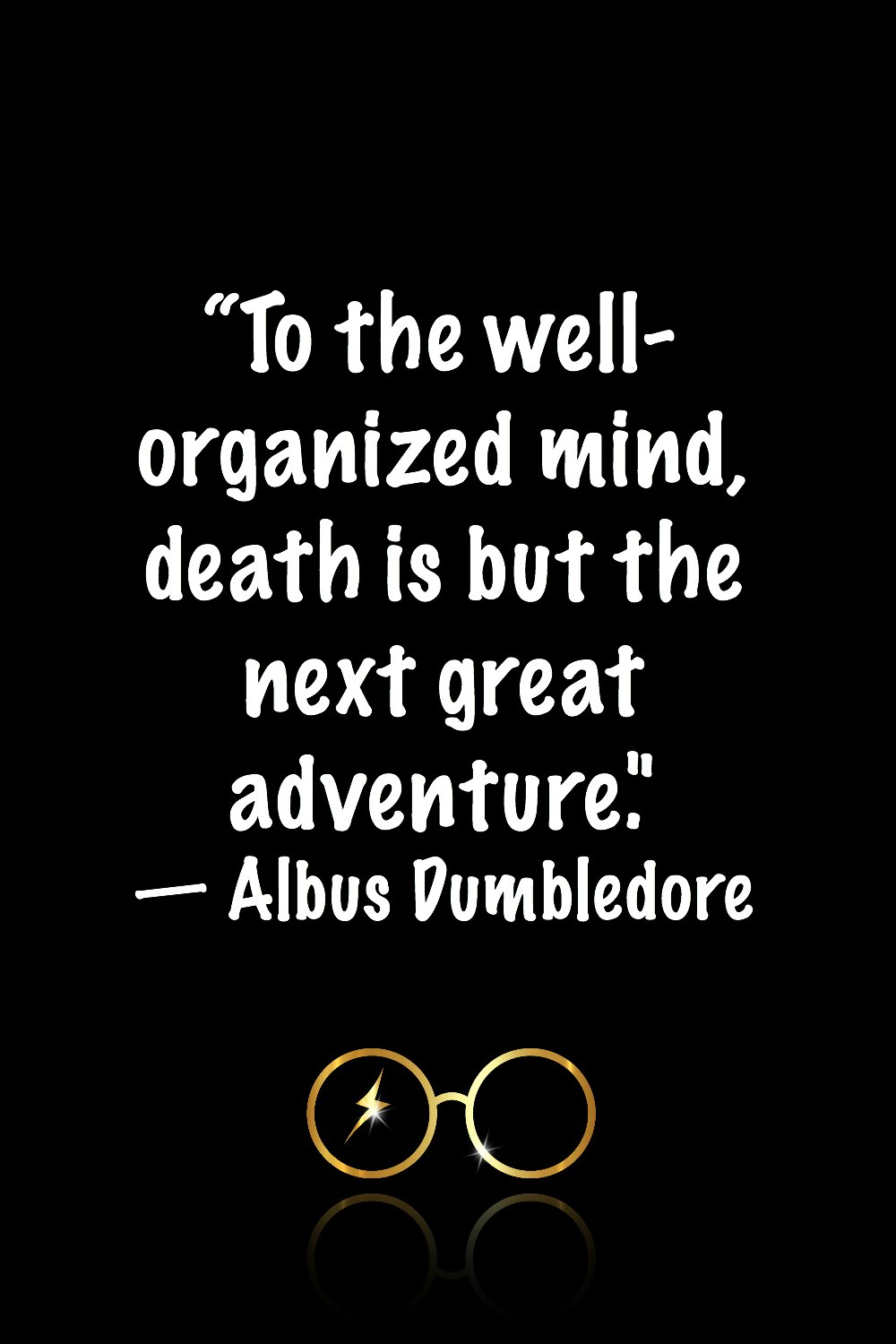 More Dumbledore quotes from Harry Potter