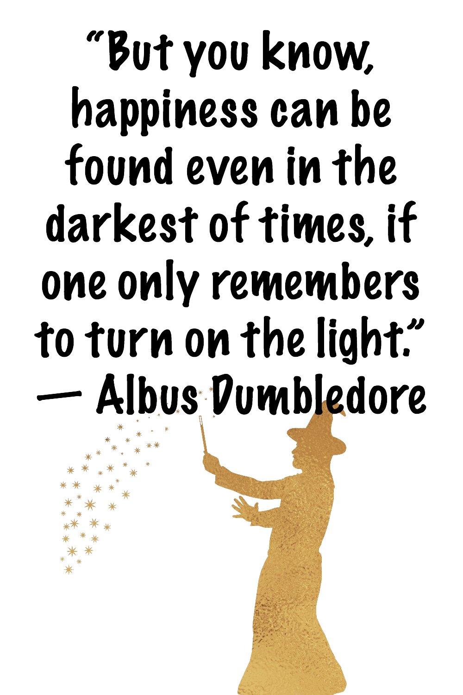 Famous Dumbledore quotes