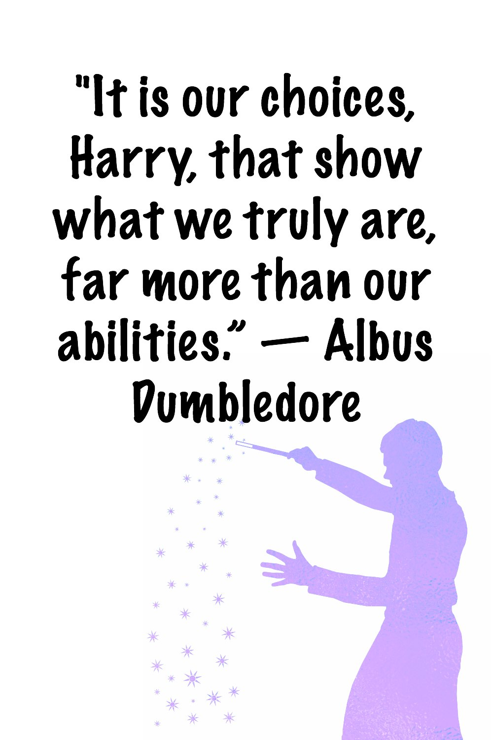 image relating to Printable Harry Potter Quotes known as Printable Harry Potter estimates - Millennial Manager