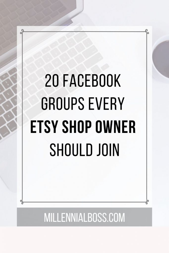 Etsy Facebook groups all sellers should join
