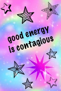 quote about good energy