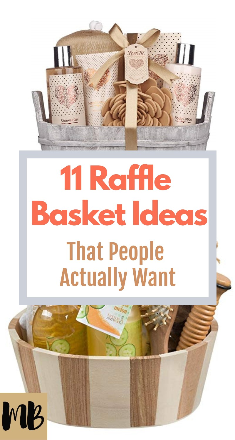 11 Raffle Basket Ideas that People Actually Want