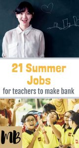 21 Summer Jobs for Teachers to Make Bank