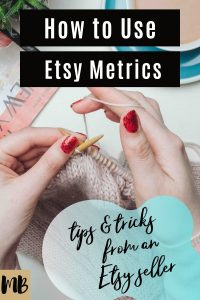 How to use Etsy data and metrics