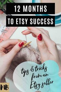 Etsy plan of action