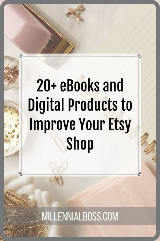 Etsy seller tips - the best Etsy ebooks