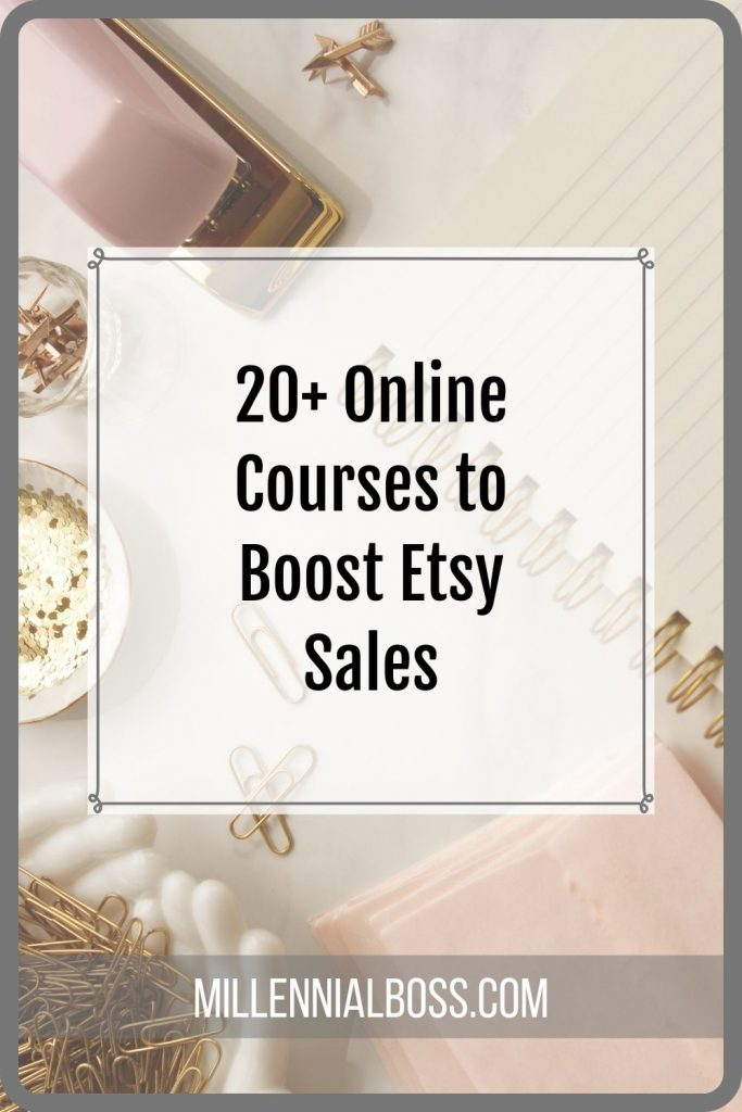 Etsy online courses that can boost your sales