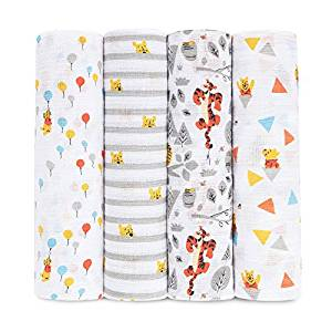 the cutest disney baby gift ideas for him or her boy or girl swaddle blankets winnie the pooh