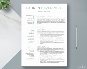Resume template simple resume bullet points 2020 resume tips and trends for getting a job interview