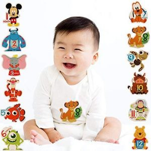 the cutest disney baby gift ideas for him or her boy or girl monthly milestones mickey sully lightning nemo mike dumbo tigger simba pumba buzz lightyear winnie the pooh
