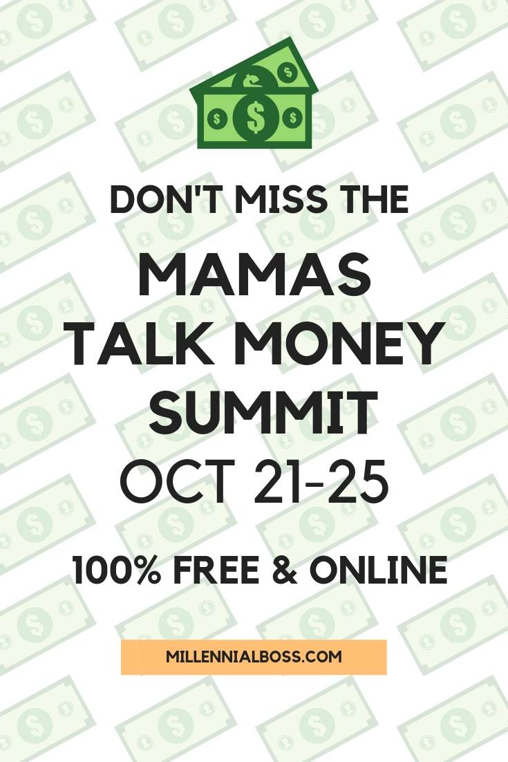 This free virtual event features 4 days of 40+ speakers in the personal finance community bringing moms the latest financial knowledge and information. Learn more about the event here.