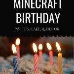 The best Minecraft birthday party ideas your kid will love!