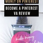 make money on pinterest become a pinterest virtual assistant VA or pinterest manager a great side hustle or work from home job