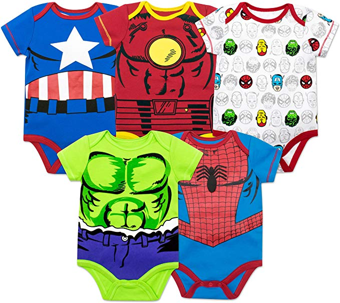 the cutest disney baby gift ideas for him or her boy or girl captain america iron man incredible hulk spiderman