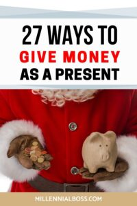 WAYS GIVE MONEY PRESENT
