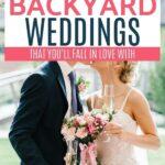 weddings in the backyard