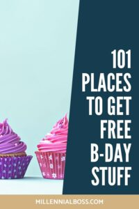 Here is a list of all the places where you can get free things on your birthday #birthday #free