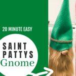 ST PATRICKS DAY LEPRECHAUN GNOME