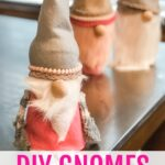valentines day craft gnomes
