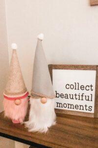 Easy to make valentines day decor #gnomes #diy