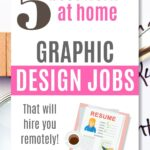 work from home graphic design jobs pinterest