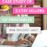 BESTSELLING ETSY PRINTABLES