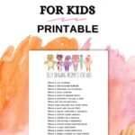 silly drawing prompts for kids printable
