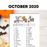 drawing prompts october 2020