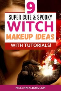witch makeup ideas pin