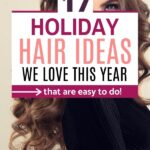 holiday hair ideas we love this year
